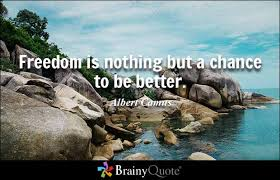 brainy quote dom is nothing but a chance to be better