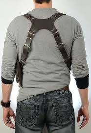 ed drake leather chest harness