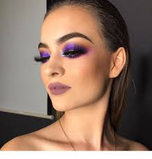 purple makeup to love inspiring las