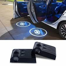 2pcs Wireless Car Led Door Logo Projector Ghost Shadow Laser Lights For Hyundai Car Led Car Accessories For Guys Car
