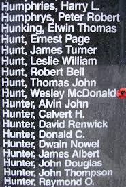 Wesley McDonald Hunt - The Canadian Virtual War Memorial - Veterans Affairs  Canada