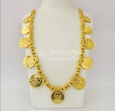devi coin stone long necklace s0344