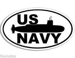 Navy Submarine 5 Helmet Bumper Sticker Toolbox Car Decal Made In Usa Ebay