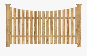 Fence Clipart Wooden Garden Wood Fence Transparent Background Free Transparent Clipart Clipartkey
