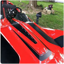 Polaris Slingshot Precut Vinyl Scalloped Hood Graphics Decal Kit