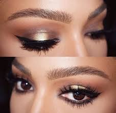 makeup ideas for prom brown eyes