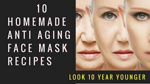 homemade anti aging face mask recipes