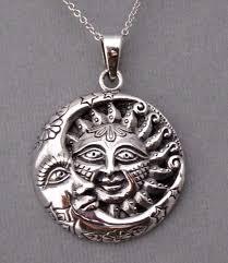925 sterling silver sun moon stars
