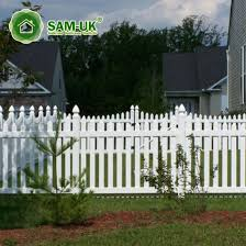 China 4 Ft X 8 Ft Scalloped Vinyl Picket Fence Front Yard China White Vinyl Picket Fence White Vinyl Picket Fencing