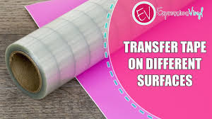 What S The Best Transfer Tape To Use With Your Adhesive Vinyl Youtube
