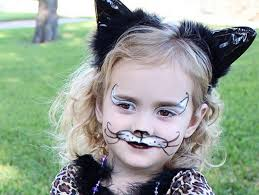 cats and dogs face painting peion