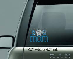 Dog Mom Car Decal Rhinestone Decal Dog Bling Car Sticker Unicorn Mom Dog Trendy Southern Outline Silhouette Sea T Shirt Time
