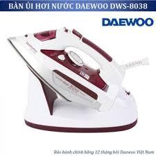 Bàn ủi hơi nước không dây cao cấp Daewoo DWS-8038 công suất 2200W chính  hãng Hàn Quốc, bảo hành 12 tháng - 495,000