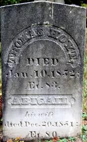 Abigail Jordan Hoyt (1771-1851) - Find A Grave Memorial
