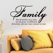 Family Like Branch Art Words Quote Wall Sticker Family Quotes Wall Decal Home Decoration Bedroom Living Room Removable Vinyl Wall Stickers Aliexpress