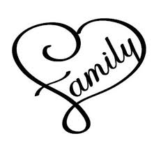 Family Heart Decal Family Heart Sticker Car Decal Car Etsy