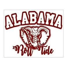 Bubbas State Of Alabama 8 X 10 Vinyl Car Truck Window Decal Stickers