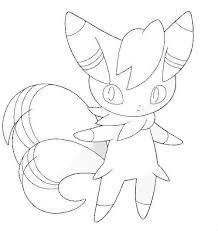 Kleurplaat Meowstick Pokemonxandy Http Www Pokemon Kleurplaat
