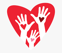 Transparent Two Hands Clipart - Hand And Heart Clipart , Free Transparent  Clipart - ClipartKey