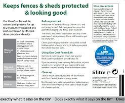 Ronseal Fence Life Plus Hillsborough Fencing Uk