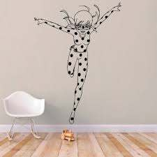 Miraculous Ladybug Wall Decal Kuarki Lifestyle Solutions