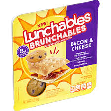 lunchables provides brunch on the go
