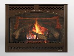 8000 series gas fireplace top hat