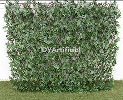 Outdoor Uv Protection Artificial Willow Trellis Fence Dongyi