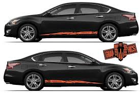 Nissan Altima Graphics Kit Nissan Stickers Altima Decals Altima Sticker