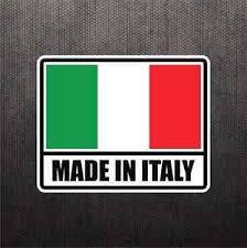 Made In Italy Flag Sticker Vinyl Decal Italian Car Sticker For Fiat Ducati Bike Ebay