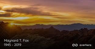 Maynard T. Fox Obituary (1945 - 2019) | Dallas, Texas