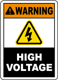 High Voltage Warning Sign Low Price Guarantee Safetysign Com