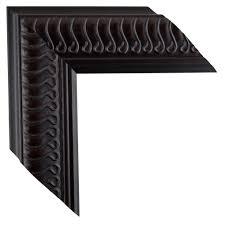 mal 0491 black brown framed mirror