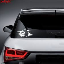 Attractive Wolf Howling Moon Silhouette Car Truck Window White Vinyl Decal Sticker Cool Graphics Buy At The Price Of 1 94 In Aliexpress Com Imall Com