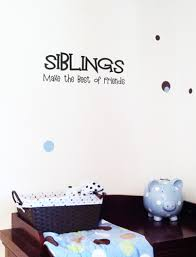 Siblings Best Of Friends Wall Decals Trading Phrases