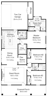 house plan 59064 traditional style
