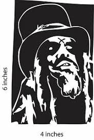 2 Pack Rob Zombie Stickers Cut Vinyl Decal White Zombie Robert Cummings Ebay