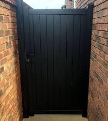 bedford metal side garden gates