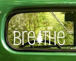 The Decal And Sticker Mafia 2 Breathe Decals Sticker Relax Nature For Car Truck Window Bumper Laptop Rv 4x4