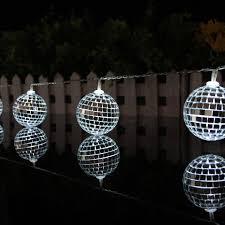 10 leds mirror ball light led light