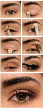 natural makeup for brown eyes tutorial