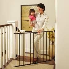 Baby Safety Gate Door Walk Through Pet Indoor Dog Fence Lock Extra Wide Tall New Ebay