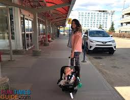 this diy portable car seat dolly is the