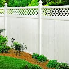 Privacy Vinyl Fence With Lattice Top Vinyl Fencing Wholesale Panels And Vinyl Horse Fencing