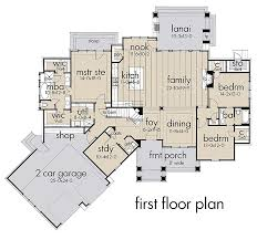 house plan 75152 traditional style