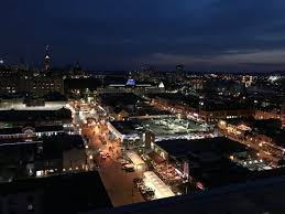 view over byward market district from