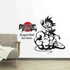 Dragon Ball Wall Decal Vinyl Son Goku Stickers Decor Home Decorative Decoration Anime Car Sticker Wall Stickers Aliexpress