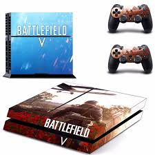 Game Battlefield 5 Ps4 Skin Sticker Consoleskins Co