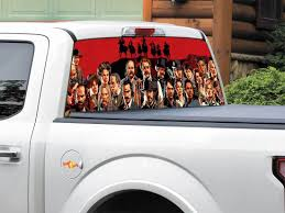 Product Red Dead Redemption 2 Rear Window Or Tailgate Decal Sticker Pick Up Truck Suv Car 2