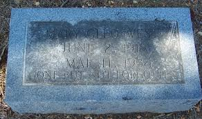Mary Cleo West (1918-1934) - Find A Grave Memorial